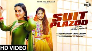Suit Plazo by Renuka Panwar