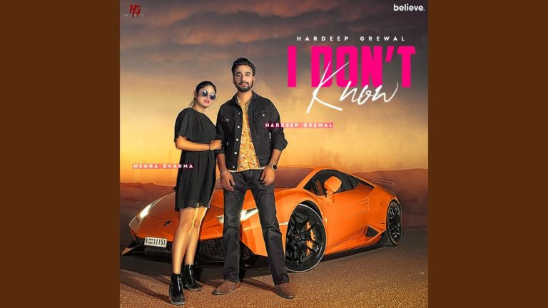 I Don't Know by Hardeep Grewal